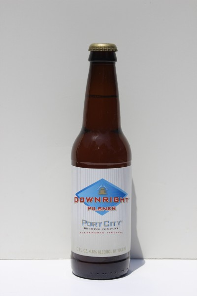 Downright Pilsner, Port City Brewing Company, Alexandria