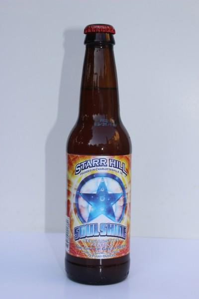 Soul Shine Belgian-Style Pale Ale, Starr Hill Brewery, Crozet