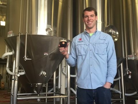 Brewmaster Robbie O'Cain is now the official Face of Starr Hill