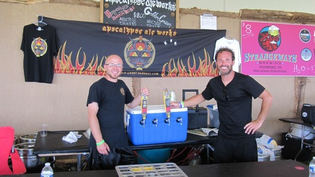 Virginia craft breweries such as Apocalypse provide great beer to go with the music at Lock 'n Festival