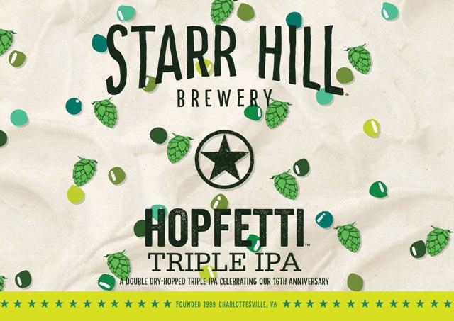 (Starr Hill Hopfetti)