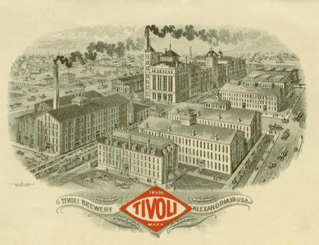 (The original Portner Brewery was Alexandria's largest employer and operated from 1869 to 1916)