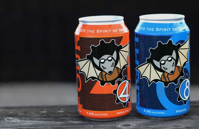 (Flying Mouse Brewing Company uses as mascot as its brand identity)