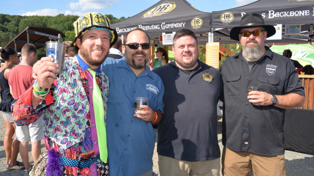 1.Virginia's craft brewers gather each August at Devils Backbone to compete for the Virginia Beer Cup
