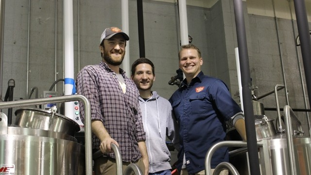(left to right) Jonathan Newman, Chris Smith and Robby Willey