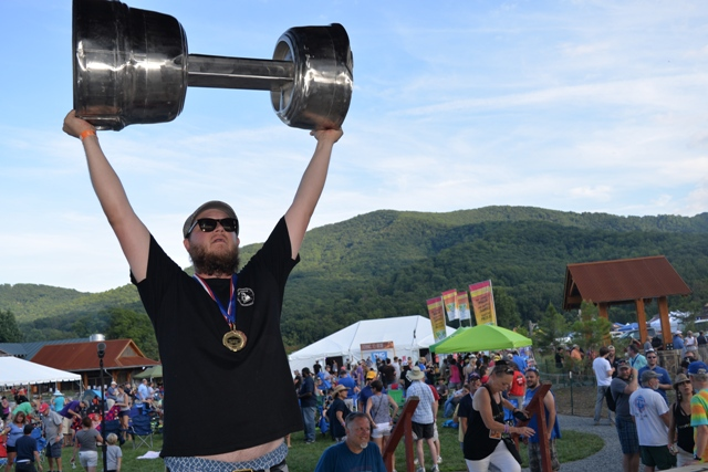 Last year's Virginia Craft Brewers Cup was hoisted by The Answer Brewpub on the grounds of Devils Backbone Base Camp brewery. The ceremony moves to the Governor's Mansion this August.)