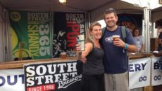 (Mandi & Taylor Smack of South Street Brewery at last year's festival)
