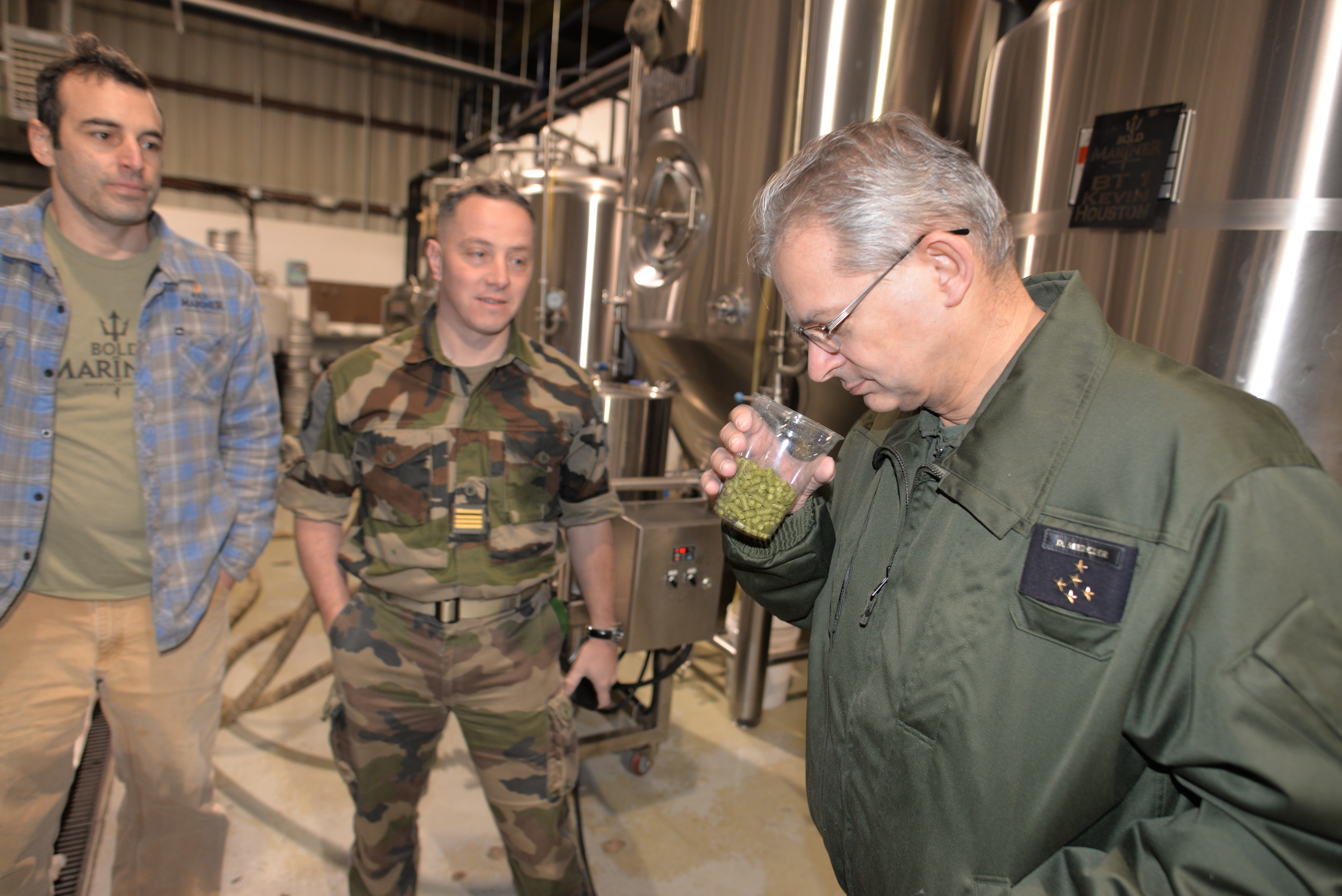 Top NATO General collaborates with Bold Mariner on symbolic beer
