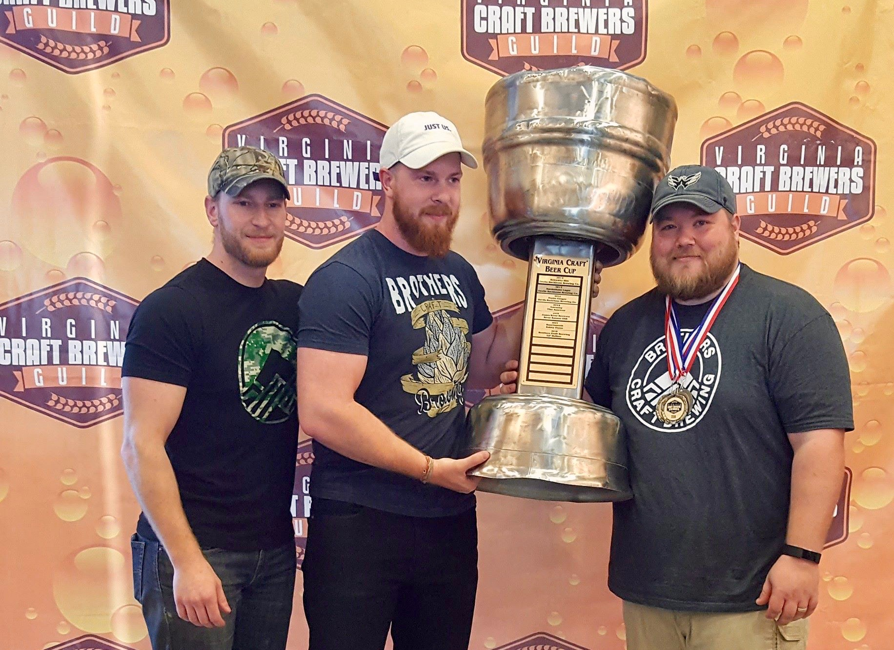 Brothers Craft Brewers Win 2018 VA Beer Cup