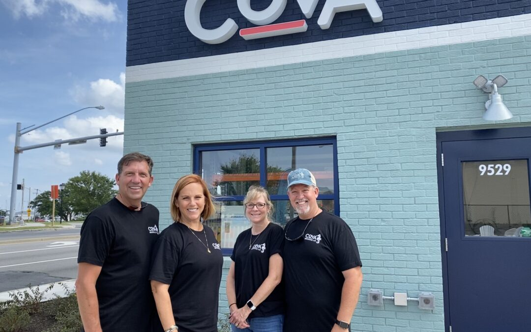 Something's Always Brewing at COVA